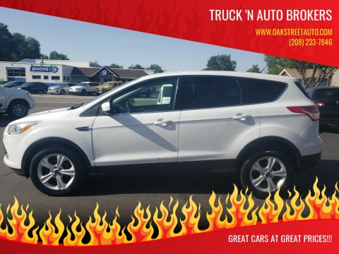 2013 Ford Escape for sale at Truck 'N Auto Brokers in Pocatello ID
