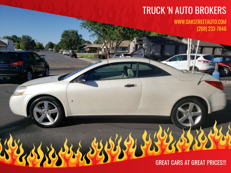 2009 Pontiac G6 for sale at Truck 'N Auto Brokers in Pocatello ID