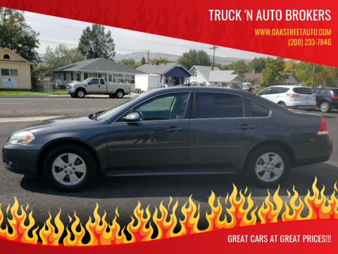 2011 Chevrolet Impala for sale at Truck 'N Auto Brokers in Pocatello ID