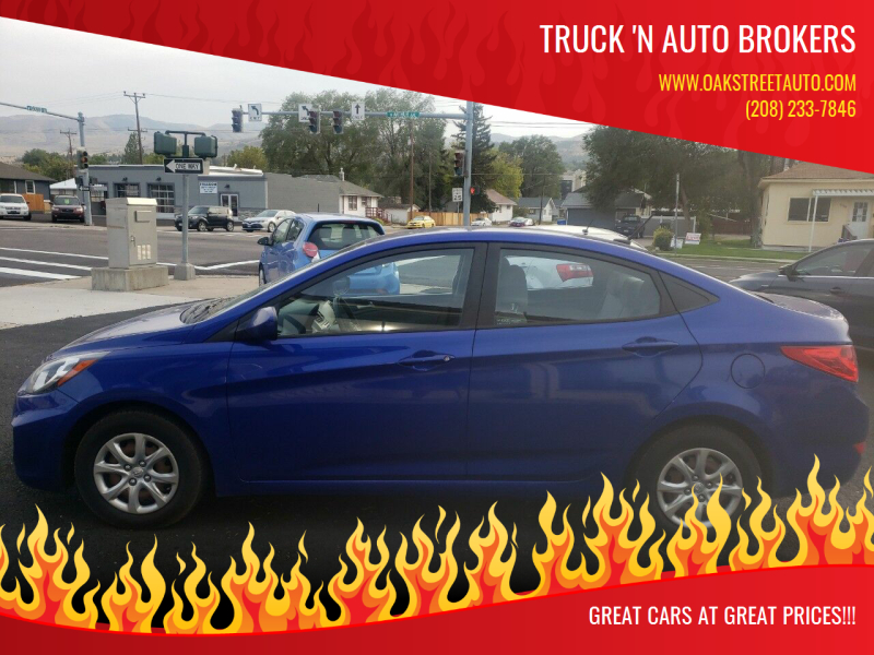 2013 Hyundai Accent for sale at Truck 'N Auto Brokers in Pocatello ID