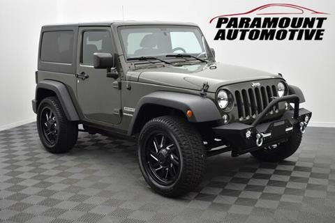 2016 Jeep Wrangler for sale in Hickory, NC