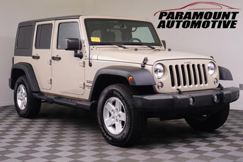 2016 Jeep Wrangler Unlimited for sale in Hickory, NC