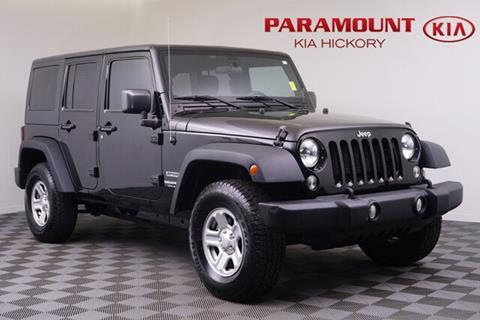2015 Jeep Wrangler Unlimited for sale in Hickory, NC