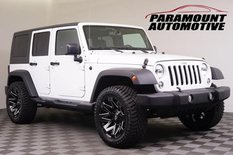 2018 Jeep Wrangler JK Unlimited for sale in Hickory, NC