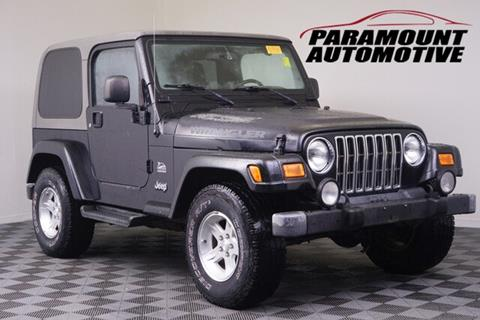 2004 Jeep Wrangler for sale in Hickory, NC