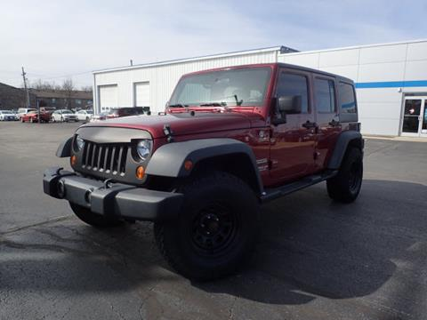 2012 Jeep Wrangler Unlimited for sale in North Vernon, IN