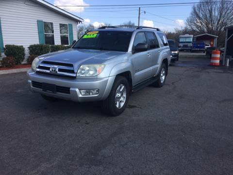 2005 Toyota 4Runner for sale at Unique Auto Sales in Knoxville TN