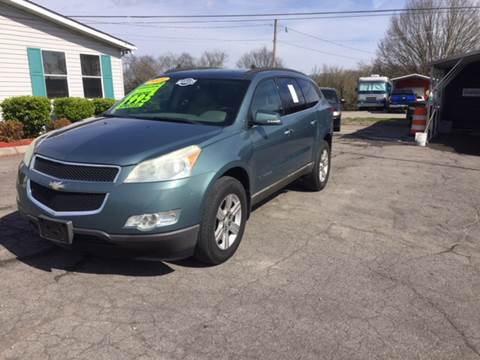 Chevrolet traverse for sale in knoxville tn for Ben franklin motors knoxville tn