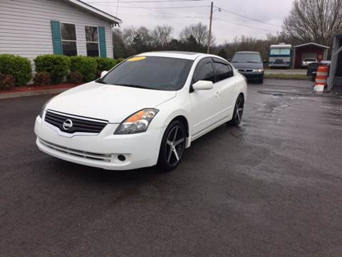 2008 Nissan Altima for sale at Unique Auto Sales in Knoxville TN