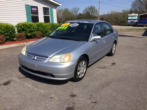 2003 Honda Civic for sale at Unique Auto Sales in Knoxville TN