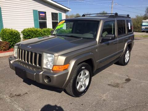 2006 Jeep Commander for sale at Unique Auto Sales in Knoxville TN