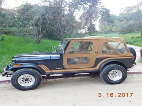1986 Jeep CJ-7 for sale in Beverly Hills, CA