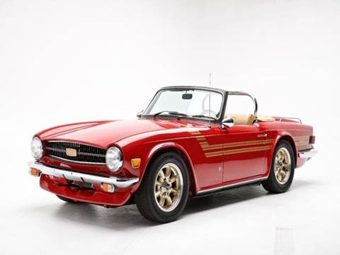 1975 Triumph TR6 for sale in Beverly Hills, CA
