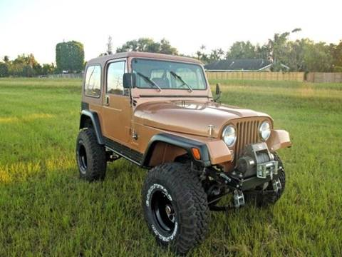 1984 Jeep CJ-7 for sale in Beverly Hills, CA