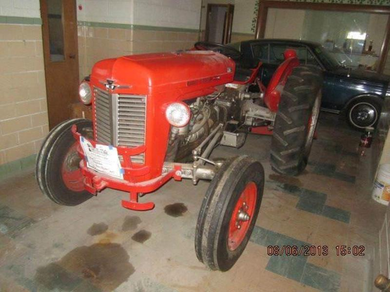 1953 Massey Ferguson 35X