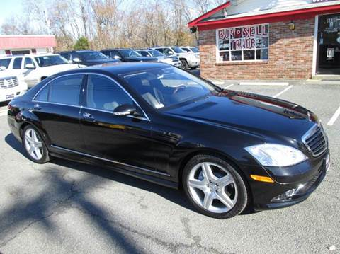 Used 2007 mercedes benz s class for sale in maryland for Used mercedes benz for sale in md