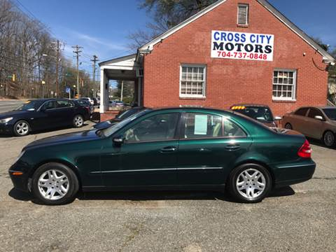 2003 mercedes benz e class for sale in north carolina for Mercedes benz for sale charlotte nc