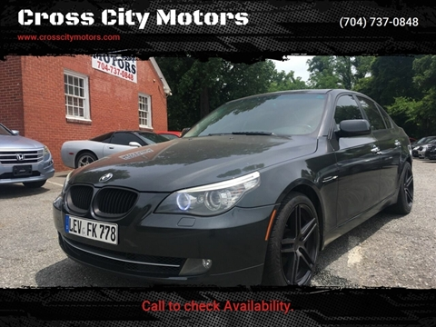 BMW 5 Series For Sale in Charlotte, NC - Cross City Motors