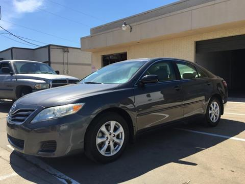 2010 Toyota Camry for sale at Evolution Motors LLC in Dallas TX