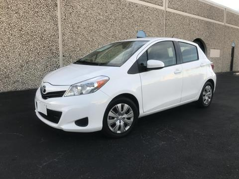 2014 Toyota Yaris for sale at Evolution Motors LLC in Dallas TX