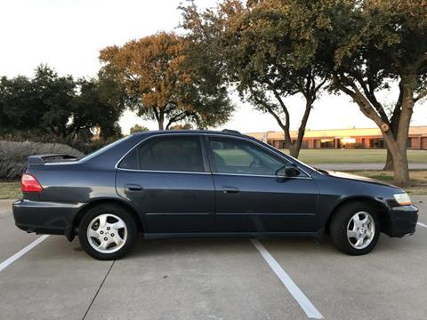 1998 Honda Accord for sale at Evolution Motors LLC in Dallas TX
