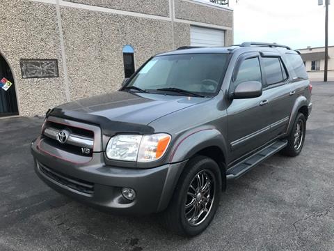 2006 Toyota Sequoia for sale at Evolution Motors LLC in Dallas TX