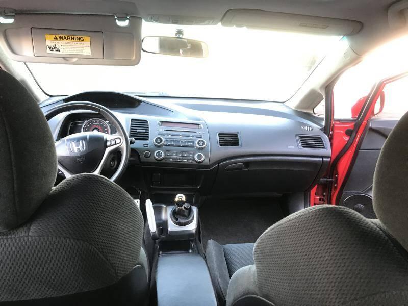 2008 Honda Civic Si 4dr Sedan w/Summer Tires - Dallas TX