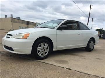 2003 Honda Civic for sale at Evolution Motors LLC in Dallas TX
