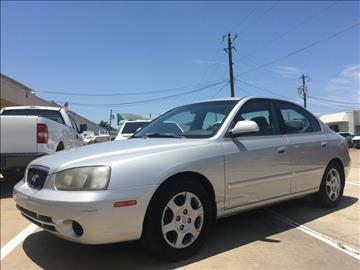2003 Hyundai Elantra for sale at Evolution Motors LLC in Dallas TX