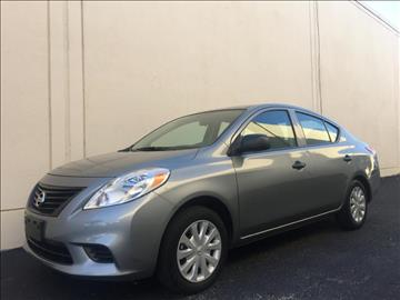 2014 Nissan Versa for sale at Evolution Motors LLC in Dallas TX