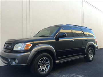2004 Toyota Sequoia for sale at Evolution Motors LLC in Dallas TX