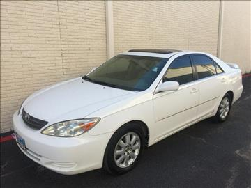 2002 Toyota Camry for sale at Evolution Motors LLC in Dallas TX