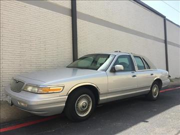 1996 Mercury Grand Marquis for sale at Evolution Motors LLC in Dallas TX