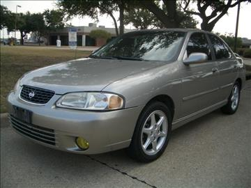 2001 Nissan Sentra for sale at Evolution Motors LLC in Dallas TX