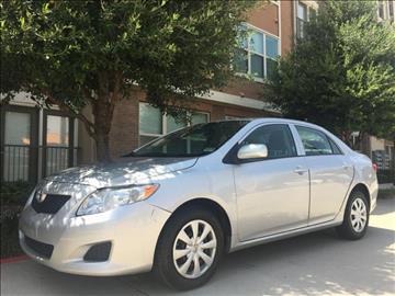 2009 Toyota Corolla for sale at Evolution Motors LLC in Dallas TX
