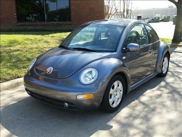 2002 Volkswagen New Beetle for sale at Evolution Motors LLC in Dallas TX