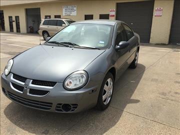 2005 Dodge Neon for sale at Evolution Motors LLC in Dallas TX