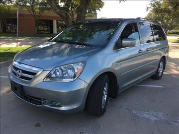 2007 Honda Odyssey for sale at Evolution Motors LLC in Dallas TX