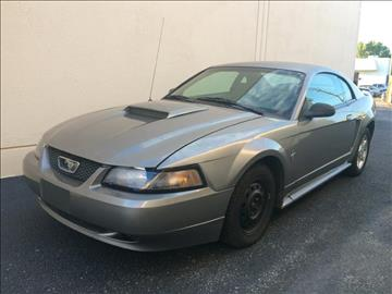 2002 Ford Mustang for sale at Evolution Motors LLC in Dallas TX