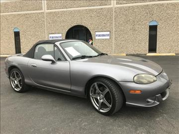2004 Mazda MAZDASPEED MX-5 for sale at Evolution Motors LLC in Dallas TX