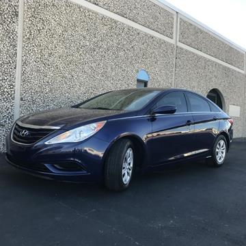 2011 Hyundai Sonata for sale at Evolution Motors LLC in Dallas TX