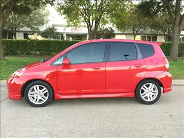 2008 Honda Fit for sale at Evolution Motors LLC in Dallas TX