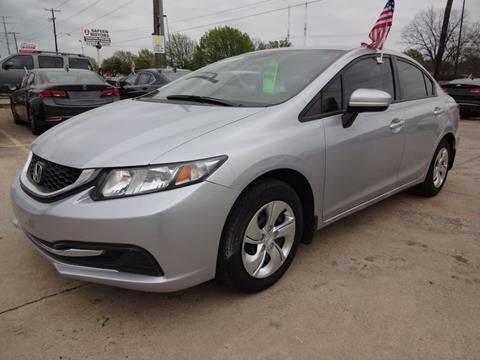 2015 Honda Civic for sale in Garland, TX