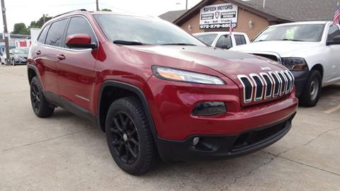 2017 Jeep Cherokee for sale in Garland, TX