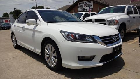 2015 Honda Accord for sale in Garland, TX