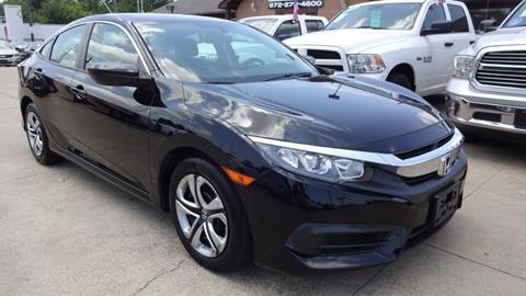 2017 Honda Civic for sale in Garland, TX