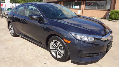 2016 Honda Civic for sale in Garland, TX