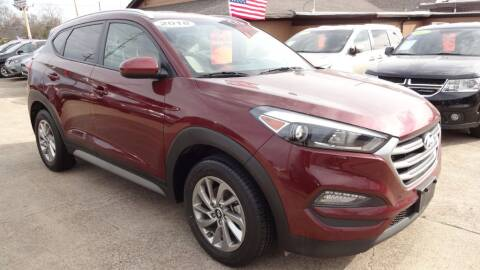 2018 Hyundai Tucson for sale at Safeen Motors in Garland TX