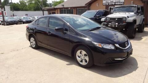 2015 Honda Civic for sale at Safeen Motors in Garland TX