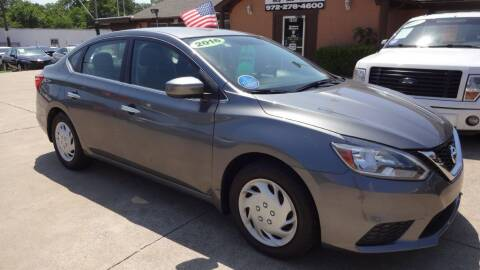 2016 Nissan Sentra for sale at Safeen Motors in Garland TX